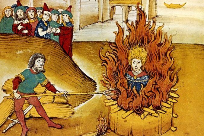 Jan Hus at the stake3